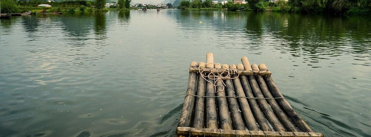 AUSGEBUCHT – Floßbau am Murner See