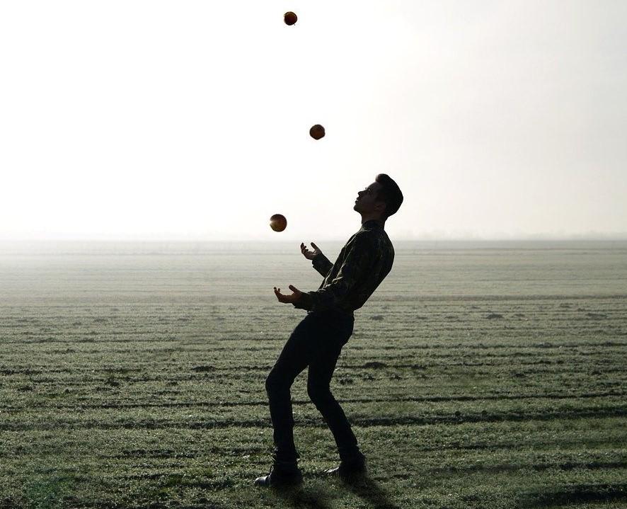 Jonglieren für Anfänger