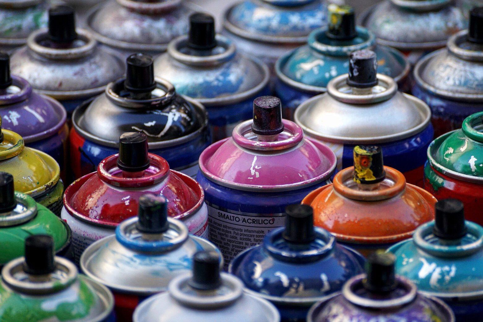 ABGESAGT- Graffiti in the City – Wandgestaltung mit der Spraydose